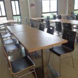 (sp-CS360) Tabela e cadeira da cantina da madeira compensada da equipe de funcionários da escola comercial de Uptop