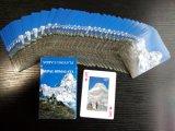 Tarjetas que juegan del póker de las imágenes de Nepal Himalaya