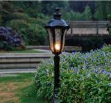 Luz única del jardín de Haochang Soalr del diseño con el modelo de la variedad