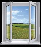 カスタマイズされたPVC開き窓のWindows PVCスライディングウインドウのプラスチックWindowsおよびドア