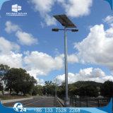 indicatore luminoso solare grigio/nero della doppia lampada 12V/24V del Palo LED del giardino di via