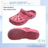 El verano colorido de la alta calidad de los zapatos del jardín de EVA estorba estorbos unisex del jardín