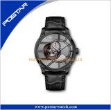El diseño del OEM mira el movimiento automático esquelético divertirse el reloj