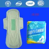 Servilletas sanitarias del anión respirable femenino del algodón, pistas sanitarias para las mujeres