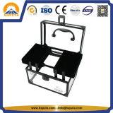 Casella medica di caso di trucco del contenitore di monili di Acryclic della radura del nuovo prodotto (HB-6344)