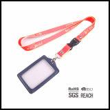 Compartilhamento personalizado com arco-íris personalizado barato para o titular do distintivo ID