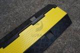 道路の安全販売のための耐久のゴム3チャネルケーブルの傾斜路