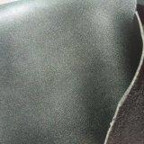 Cuero de la PU de Microfiber para los zapatos que hacen Hx-S1734