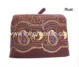 100% Wolle-Filz-Indien-Islam-Schädel-Schutzkappe mit Stickerei