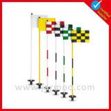 Indicador de aluminio poste del golf de la alta calidad