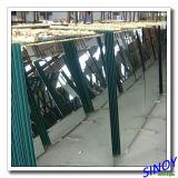 Hoja de aluminio del espejo del flotador claro