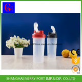подгонянная 600ml бутылка воды конструкции пластичная для гимнастики и спорта