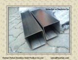 Pipe en acier décorative carrée de l'acier inoxydable 201