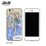 Het Drijfzand Phone Case van Shs LED Light Liquid voor iPhone 7