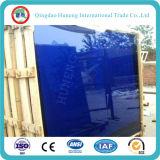 5m m al vidrio reflexivo azul marino del grado para la ventana y la pared