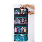Geräumiger faltbarer hängender Arbeitsweg-kosmetischer Beutel mit 4 Taschen