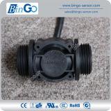 G1 '' mètre d'eau noir en plastique du taux 0-60L/Min, sonde de débit pour l'eau potable