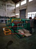 Tambor de papel / fibra / barril / tubo de fabricación de la máquina con unidad de etiquetado