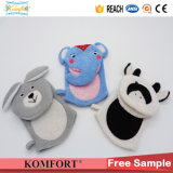 Klb-117 Animal Kids Hand Puppet Gift Sponge Softtextile Bath Glove