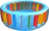 팽창식 3 반지 둥근 수영장 둥근 수영장 PVC 수영장
