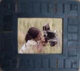 2017 Uniek Donker Bruin Houten Frame voor het Decor van het Beeld
