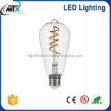 Risparmio di energia morbido della base E26/27bulb della lampada di illuminazione del filamento LED LED