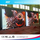 echada LED a todo color de interior de 6m m que hace publicidad de las pantallas para el hotel