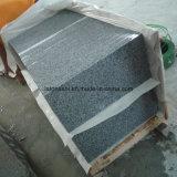 中国は床のためのG603、Padangライト、Padangの白い灰色の花こう岩のタイルまたは階段または舗装炎にあてた