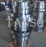Acoplador modificado para requisitos particulares del engranaje del tambor para la máquina pesada