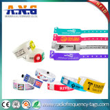 Wristband da identificação do paciente médico do hospital do PVC de RFID