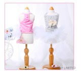 Design Cotton Dog Clothes Summer Belle robe Bowtie Tutu