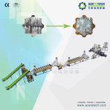Machine van het Recycling van de Zak van de Plastic Film van het afval de pp Geweven
