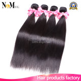 Best Instock 8-30 Inch 6A Unprocessed Brazilian Straight Virgin Hair Weft Extension, 1b # Straight Brazilian Human Hair Weaving