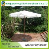Оптовые деревянные водоустойчивые удобные легкие поднимающие вверх зонтики рынка