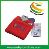 New Design Zipper Wallet Sweatband avec poche