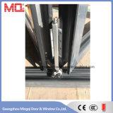 Type en verre glacé par double en aluminium isolé par chaleur de porte de pliage de Lowe de porte