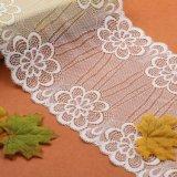 Lacet coloré de vente chaud de réseau de broderie de guindineau de polyester à vendre