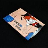 알루미늄 Customzied는 지퍼를 가진 음식 포장을%s Zip 자물쇠 주머니에 의하여 박판으로 만들어진 강직한 비닐 봉투를 위로 서 있다