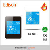 Termostato programável do quarto do aquecimento RS485 Modbus da tela de toque do LCD (TX-928H-M)