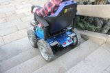 Faltende Gegenständer-abnehmbare stützende Sitztreppe, die elektrischen Rollstuhl klettert