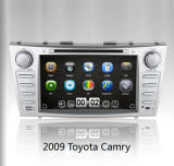 Wince 6.0 do núcleo do quadrilátero no estéreo do carro do traço para Camry novo 2007-2011 com iPod Bluetooth da tevê do GPS 3G