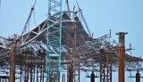 Conferencia de la estructura del braguero de la fabricación de la alta calidad y centro de exposición de acero