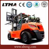 Precio de la carretilla elevadora de la tonelada Gasoline/LPG de la carretilla elevadora 5 de Ltma