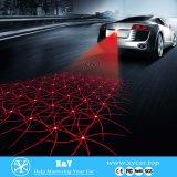O diodo emissor de luz bem-vindo do laser do carro ilumina luzes do diodo emissor de luz da sombra do fantasma