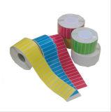 (Flourscent) papel lustroso de papel autoadesivo da etiqueta