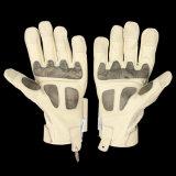 Voll-Handschwarze Kevlar-Polizei-Handschuhe mit Impuls