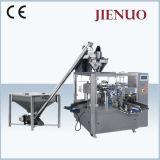 Rotatorio automático de especias en polvo Harina de soja en polvo Granos de trigo bolsa máquina de embalaje
