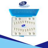 Auto ortodontico che lega le parentesi di ceramica dello zaffiro libero della parentesi