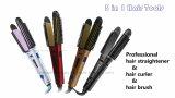 Fácil de manejar múltiples herramientas de uso del pelo para recto, Curl, Waves & Flicks