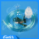 Masque de nébuliseur de masque d'anesthésie pour l'adulte